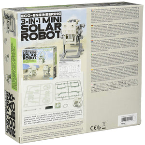 4M 3-in-1 Solar Robot - All-Star Learning Inc. - Proudly Canadian