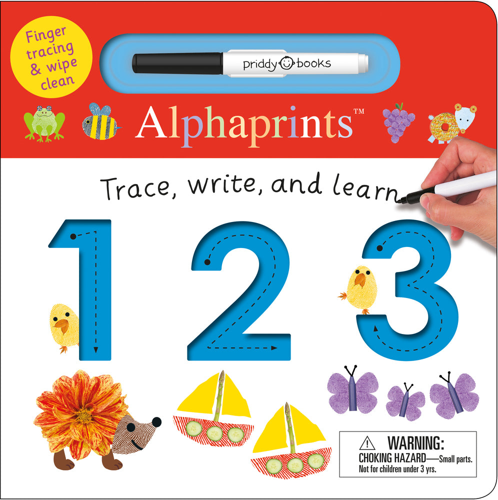 Alphaprints: Trace, Write, and Learn 123 - All-Star Learning Inc. - Proudly Canadian