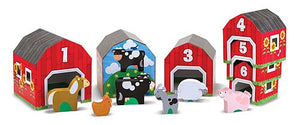 Melissa and Doug Nesting & Sorting Barns & Animals - All-Star Learning Inc. - Proudly Canadian