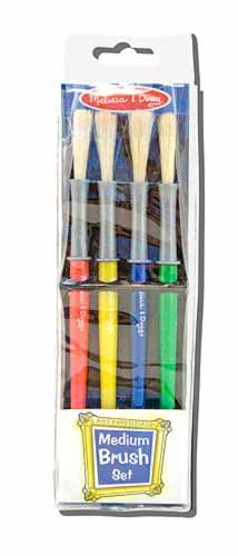 Melissa and Doug Medium Paint Brush Set - All-Star Learning Inc. - Proudly Canadian