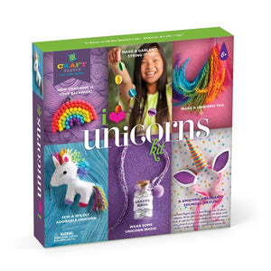 Ann Williams Craft-tastic I Love Unicorns Kit - All-Star Learning Inc. - Proudly Canadian