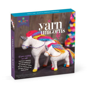 Ann Williams Craft-tastic Yarn Unicorns Kit - All-Star Learning Inc. - Proudly Canadian
