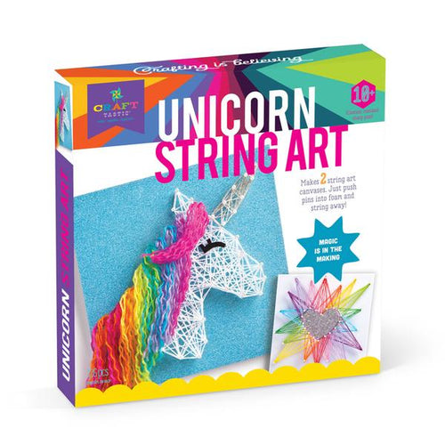 Ann Williams Craft-tastic Unicorn String Art Kit - All-Star Learning Inc. - Proudly Canadian