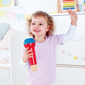 Hape Mighty Echo Microphone - All-Star Learning Inc. - Proudly Canadian