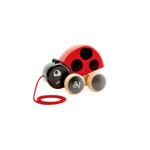 Hape Ladybug Pull-Along - All-Star Learning Inc. - Proudly Canadian