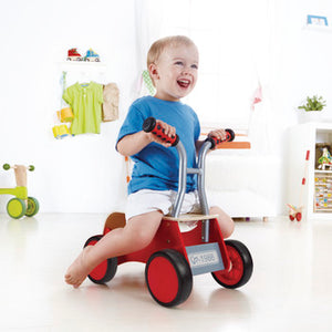 Hape Little Red Rider - Ride-on for Kids - All-Star Learning Inc. - Proudly Canadian