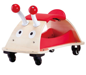 Hape Ladybug Push and Pull Bug About Ride-on Toy - All-Star Learning Inc. - Proudly Canadian