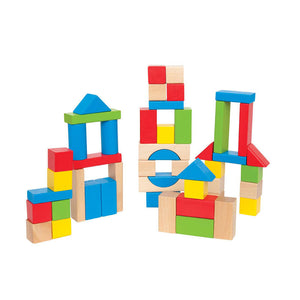 Hape Build Up & Away Blocks - 100 pcs - All-Star Learning Inc. - Proudly Canadian