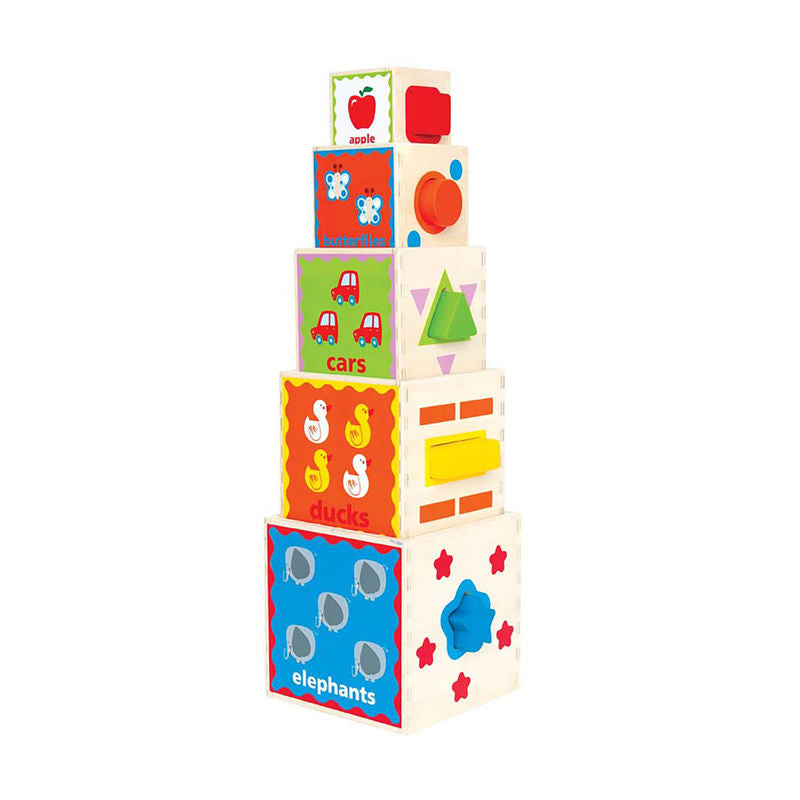 Hape Pyramid of Play - All-Star Learning Inc. - Proudly Canadian