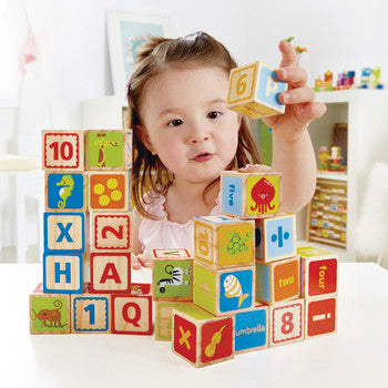 Hape ABC Blocks - All-Star Learning Inc. - Proudly Canadian