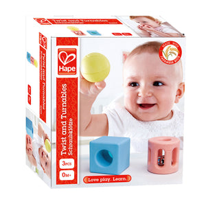 Hape Geometric Rattle - All-Star Learning Inc. - Proudly Canadian