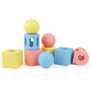 Hape Geometric Rattle Trio - All-Star Learning Inc. - Proudly Canadian