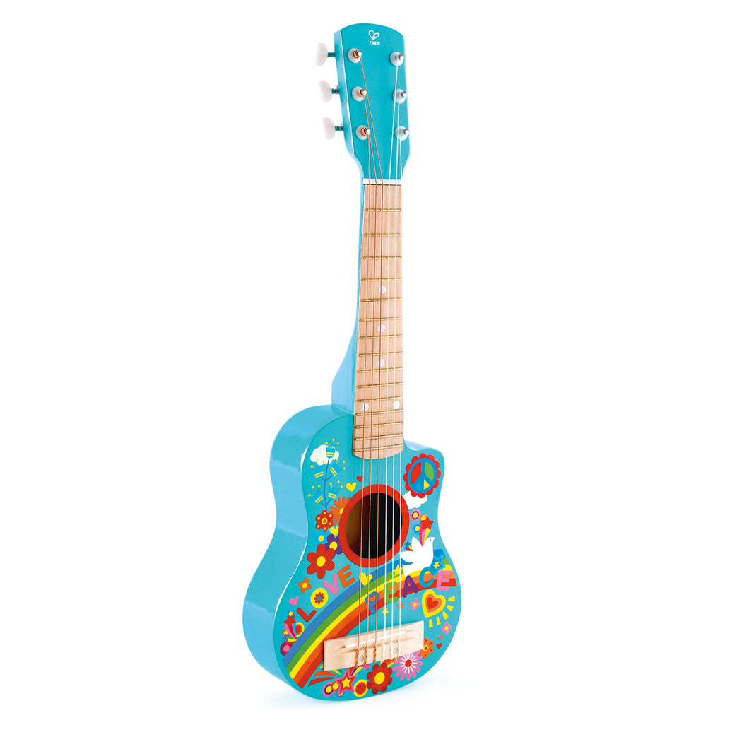 Hape Flower Power Guitar - All-Star Learning Inc. - Proudly Canadian