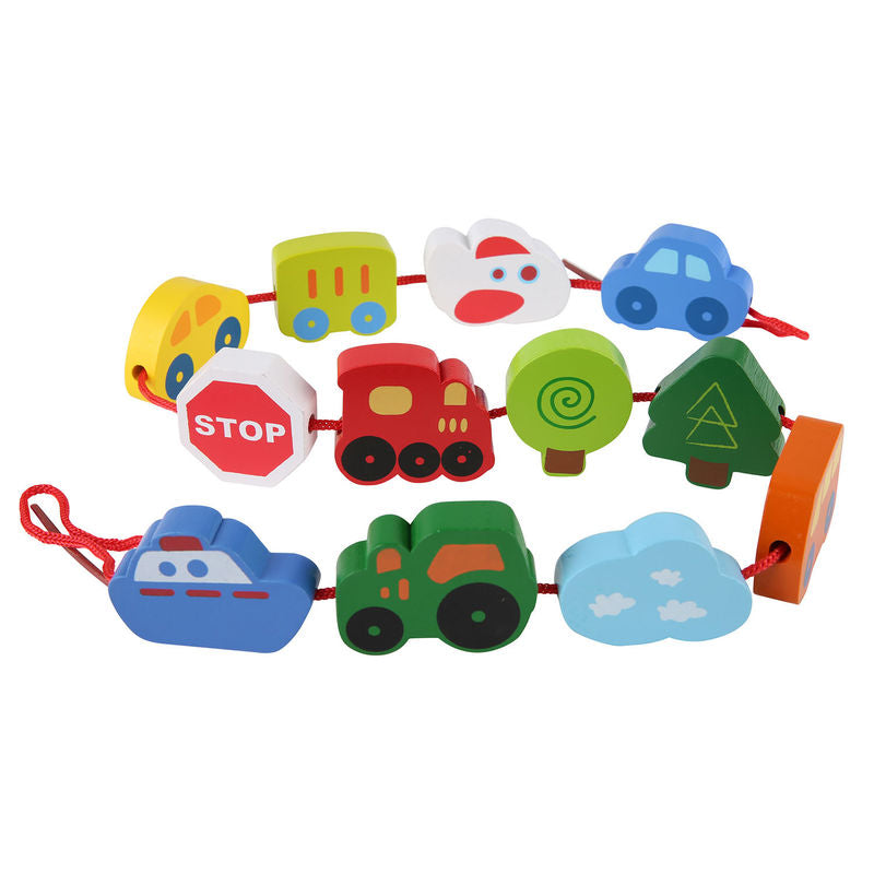 Hape Lacing Vehicles - All-Star Learning Inc. - Proudly Canadian
