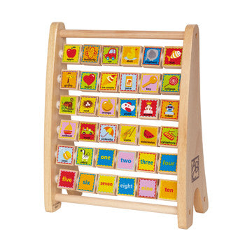 Hape Alphabet Abacus - All-Star Learning Inc. - Proudly Canadian