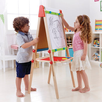 Hape All-in-1 Art Easel - All-Star Learning Inc. - Proudly Canadian