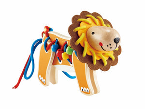 Hape Lacing Lion - All-Star Learning Inc. - Proudly Canadian