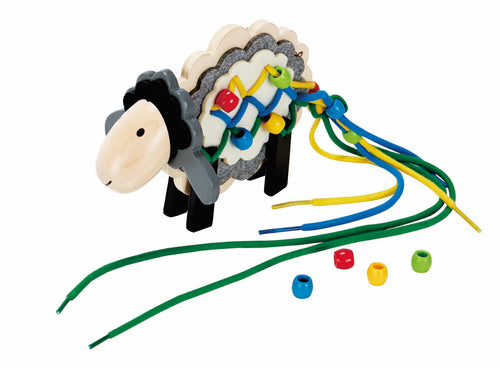 Hape Stringy Sheep - All-Star Learning Inc. - Proudly Canadian