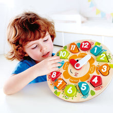 Hape Chunky Clock Puzzle - All-Star Learning Inc. - Proudly Canadian