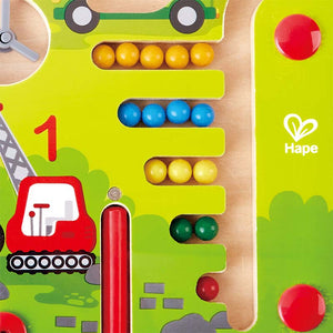 Hape Construction & Number Maze - All-Star Learning Inc. - Proudly Canadian