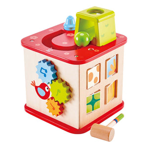 Hape Friendship Activity Cube - All-Star Learning Inc. - Proudly Canadian
