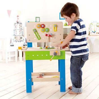 Hape Master Workbench - All-Star Learning Inc. - Proudly Canadian