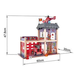Hape NEW Fire Station - All-Star Learning Inc. - Proudly Canadian