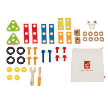 Hape Basic Builder Set - All-Star Learning Inc. - Proudly Canadian