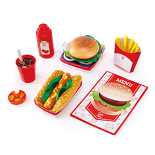 Hape Fast Food Set - All-Star Learning Inc. - Proudly Canadian