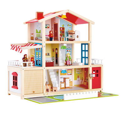Hape Doll Family Mansion Dollhouse - All-Star Learning Inc. - Proudly Canadian