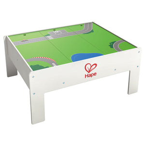 Hape Reversible Train Storage and Activity Table (Hape Railway) - All-Star Learning Inc. - Proudly Canadian