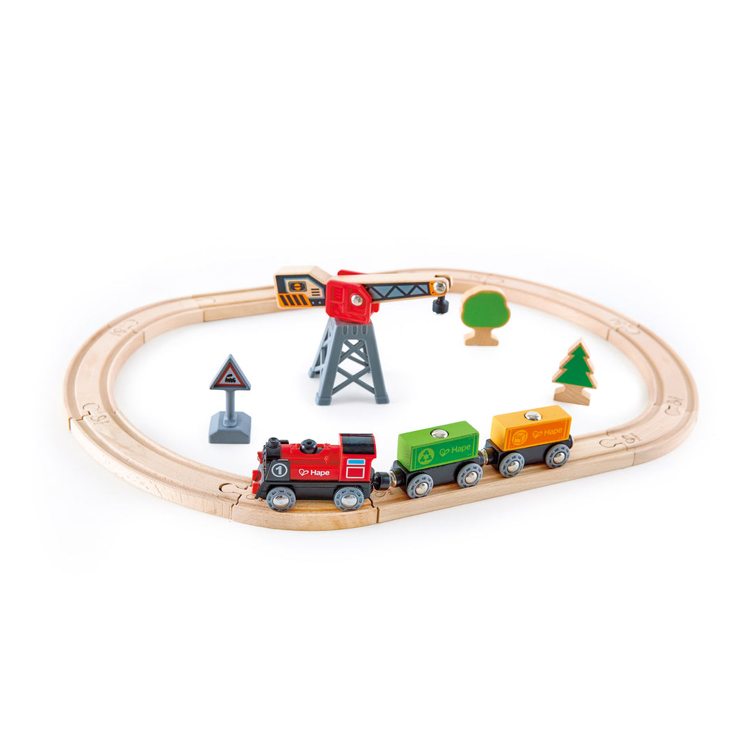 Hape Cargo Delivery Loop (Hape Railway) - All-Star Learning Inc. - Proudly Canadian