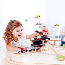 Hape Lift & Load Mining Play Set (Hape Railway) - All-Star Learning Inc. - Proudly Canadian