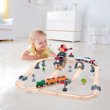 Hape Mining Loader Set (Hape Railway) - All-Star Learning Inc. - Proudly Canadian