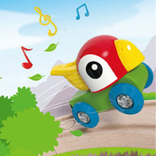 Hape Whistling Parrot Engine (Hape Railway) - All-Star Learning Inc. - Proudly Canadian