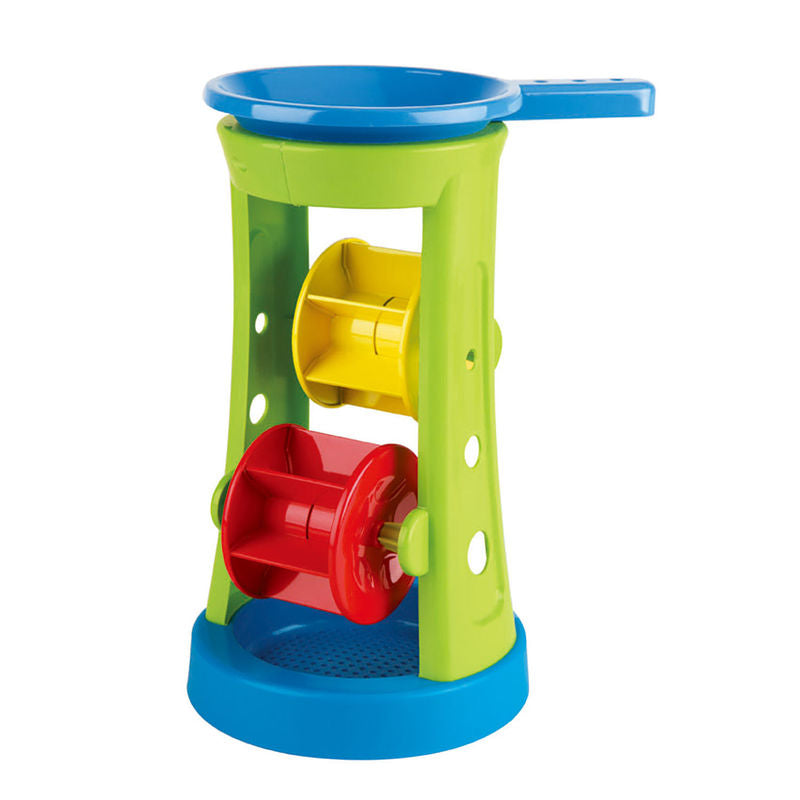 Hape Double Sand And Water Wheel - All-Star Learning Inc. - Proudly Canadian