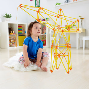 Hape Flexistix Truss Crane - All-Star Learning Inc. - Proudly Canadian