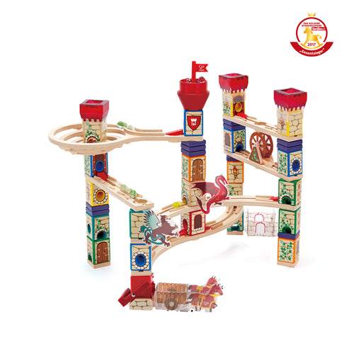 Hape Quadrilla Marble Run - Medieval Quest - All-Star Learning Inc. - Proudly Canadian