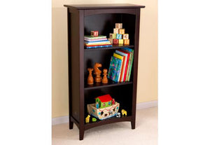 KidKraft Avalon Three-Shelf Bookcase - Espresso - All-Star Learning Inc. - Proudly Canadian
