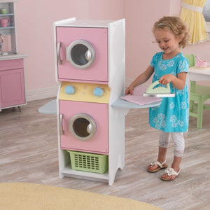 KidKraft Laundry Play Set - Pastel - All-Star Learning Inc. - Proudly Canadian