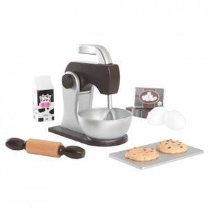 KidKraft Espresso Wooden Baking Set - All-Star Learning Inc. - Proudly Canadian