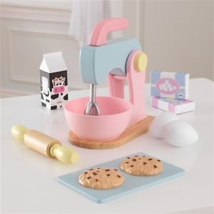 KidKraft Wooden Baking Set - Pastel - All-Star Learning Inc. - Proudly Canadian