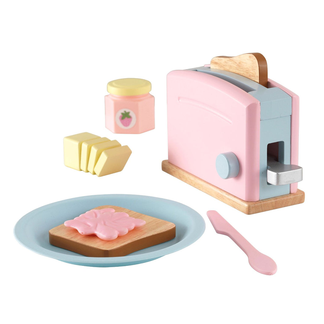 KidKraft Pastel Toaster Set - All-Star Learning Inc. - Proudly Canadian