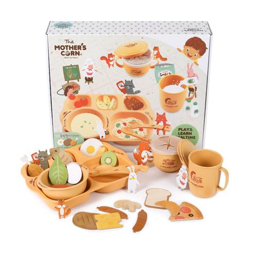 Mother's Corn Play & Learn Mealtime Set - All-Star Learning Inc. - Proudly Canadian
