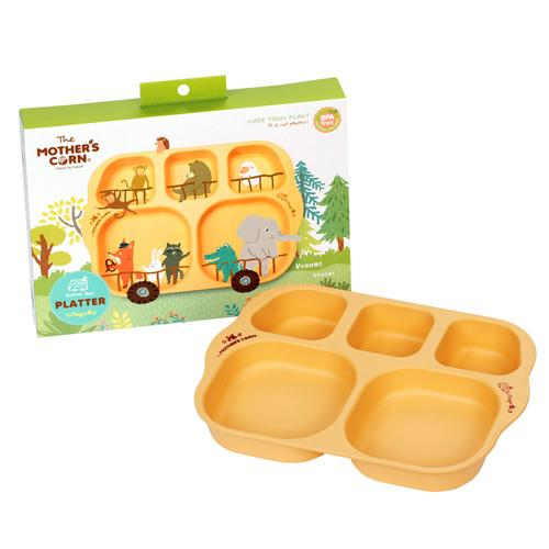 Mother's Corn School Bus Platter - All-Star Learning Inc. - Proudly Canadian