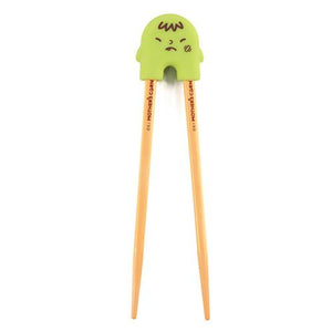 Mother's Corn Rice 2 See U Chopsticks Training Set - Green - All-Star Learning Inc. - Proudly Canadian