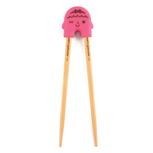 Mother's Corn Rice 2 See U Chopsticks Training Set - Pink - All-Star Learning Inc. - Proudly Canadian