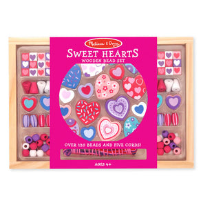 Melissa and Doug Sweet Hearts Bead Set - All-Star Learning Inc. - Proudly Canadian
