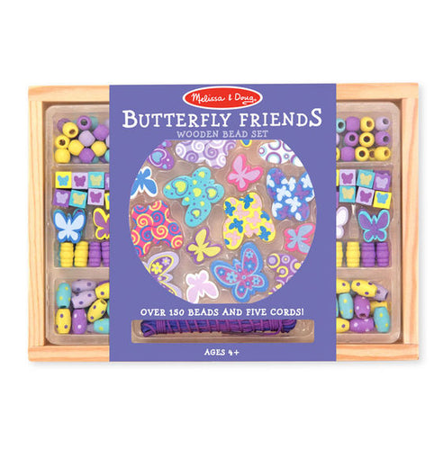 Melissa and Doug Butterfly Friends Bead Set - All-Star Learning Inc. - Proudly Canadian