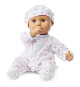 "Melissa and Doug Mine to Love - Mariana 12"" Baby Doll - All-Star Learning Inc. - Proudly Canadian"